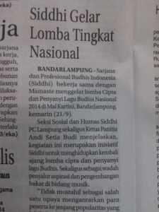 Radar Lampung 22 Sep 2014